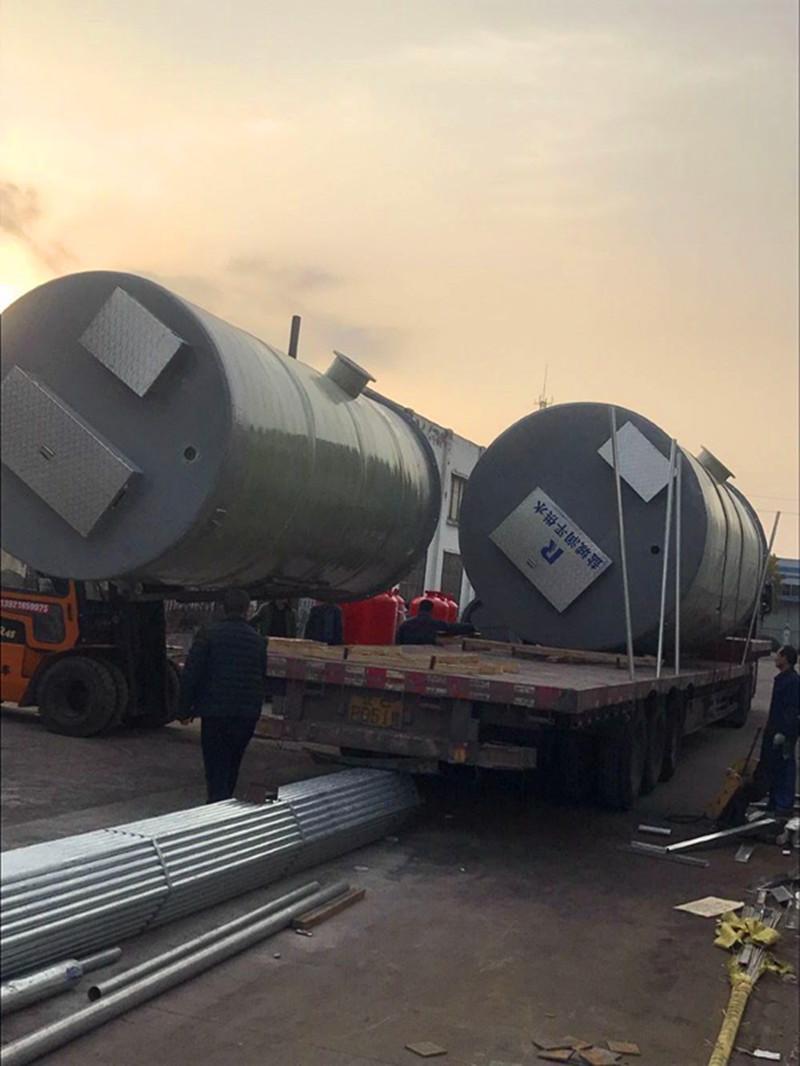 新疆莎车一体化污水预制泵站